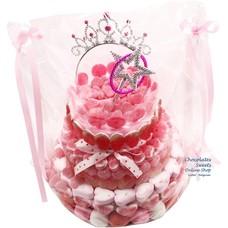 Gâteau de bonbons La couronne de Chari