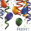 Greeting Card 'Feest!'