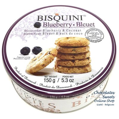 Cookies with Blueberry & Coconut 150g