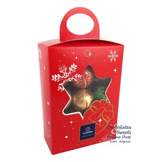 Leonidas Christmas box (M) 20 Christmas balls