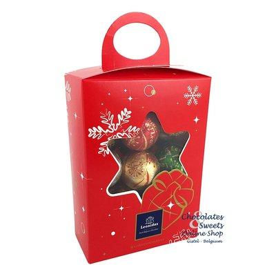 Leonidas Coffret cadeau avec 20 boules de Noël