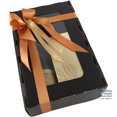 750g Leonidas Chocolates and red wine