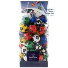 Leonidas Sachet - 50 Petits ballons de foot en chocolat