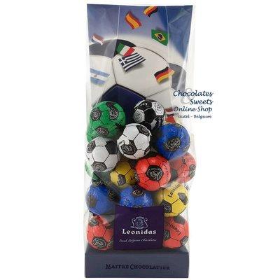 Leonidas Petits Sachet avec 25 petits ballons de foot en chocolat