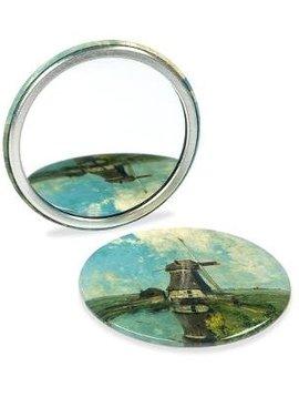 Button met spiegel