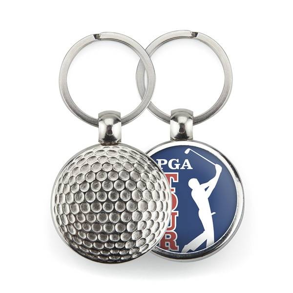 Sleutelhanger Golfbal vanaf
