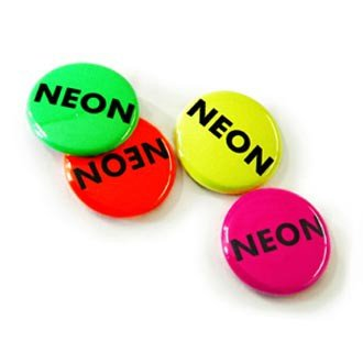 37mm button neon effect vanaf