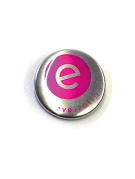 75mm button metaaleffect vanaf