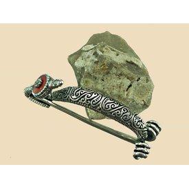 Celtic fibula Bern silver