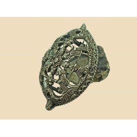 Turtle brooch Uppsala, silver
