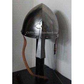 Norman nasal helmet with clover