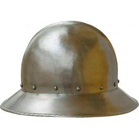 Short brimmed kettle hat