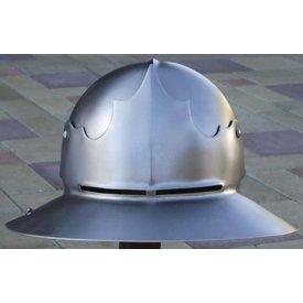 Kettle hat with visor