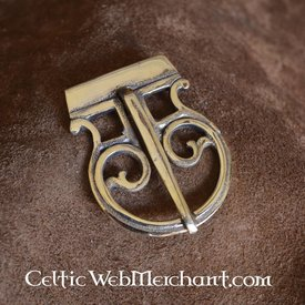 Roman belt buckle brass