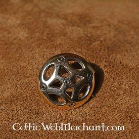 Vendel style disc fibula Gotland