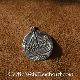 Viking coin pendant