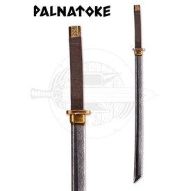 Palnatoke Samurai - LARP-Sword, long, brass finish