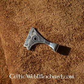 Silver Viking axe pendant