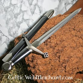 Dagger with honeycomb motive