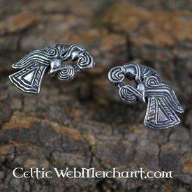 Viking earrings eagle