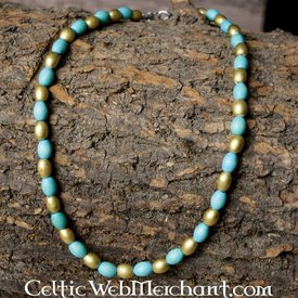 Greek-Egyptian bead necklace