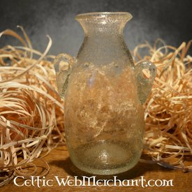 Roman glass Amphora white