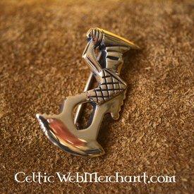 Roman gladiator fibula