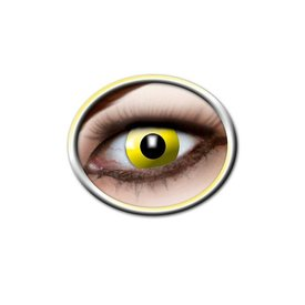 Epic Armoury Coloured contact lenses bright yellow