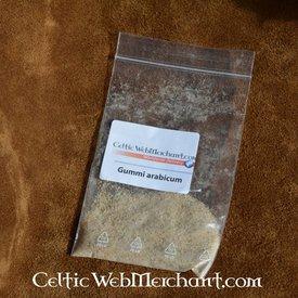 Gum arabic, 20 grams, fine powder