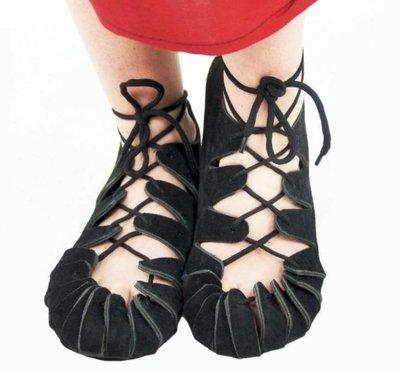 historic children's shoes