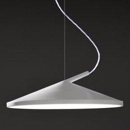 Martinelli Luce Hanging lamp CONE  - WHITE
