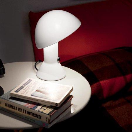 Martinelli Luce Table Lamp ELMETTO - ∅ 22 H 28 - WHITE
