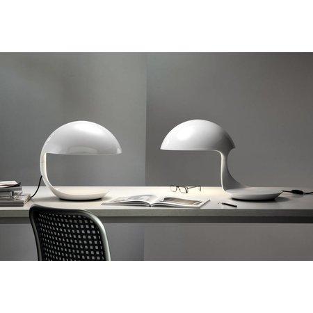 Martinelli Luce Table Lamp COBRA - ∅ 40 H 40 - WHITE