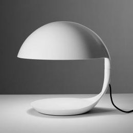 Martinelli Luce Table Lamp COBRA - ∅ 40 H 40 - WHITE
