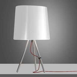 Martinelli Luce Table Lamp EVA - ∅ 20 H 38 - WHITE