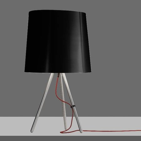 Martinelli Luce Table Lamp EVA - ∅ 20 H 38 - BLACK