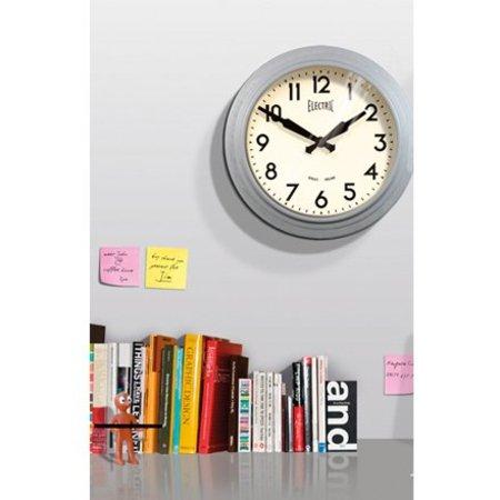 "Newgate 50's ""Electric"" Wall Clock"