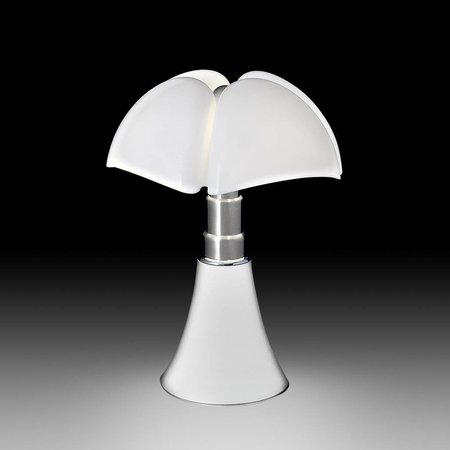 Martinelli Luce Table lamp PIPISTRELLO WHITE ∅ 55 H 66-86