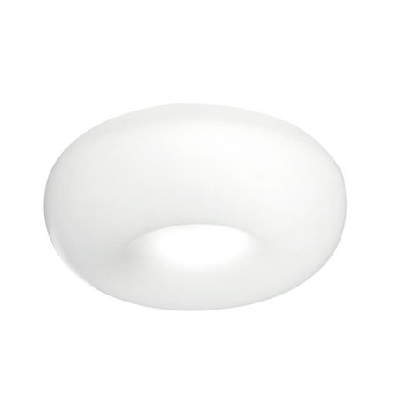 Martinelli Luce Ceiling Lamp - POUFF - ∅ 46 H 16 -WHITE