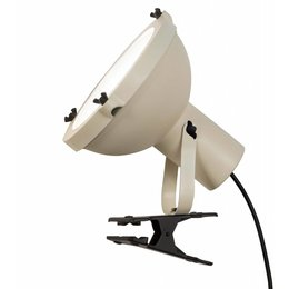 Nemo Projecteur 165 Clip - Tafellamp - Beige