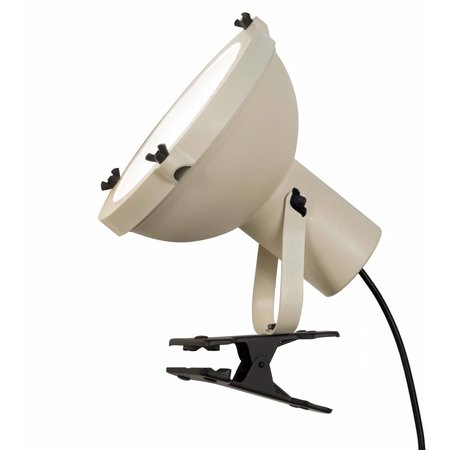 Nemo Table lamp - Projecteur 165 Clip - White sand