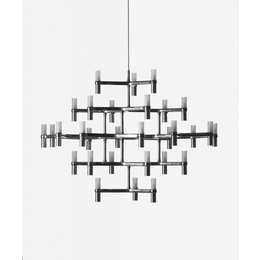Nemo Hanging lamp - Crown Major - Polished metal