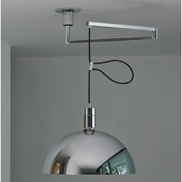 Nemo AS41Z - Hanglamp - Zilver