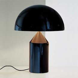 Oluce Table lamp - Atollo 233 - Black
