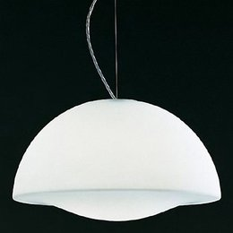 Oluce Hanging lamp - Drop 469 - White