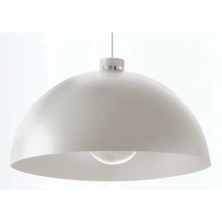 Nemo Hanging Lamp - Coupole - Aluminium gray