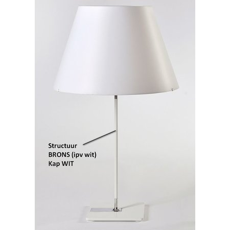 Axis71 Table Lamp - One Table Medium - Bronze