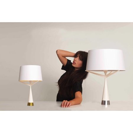 Axis71 Table lamp - S71 Small - white, silver