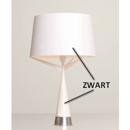 Axis71 Table lamp - S71 Small - black, silver