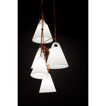 Martinelli Luce Hanging Lamp - Trilly Junior - White